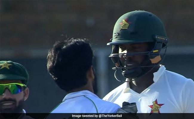 हसन अली और ZIM बल्लेबाज के बीच हुई जोरदार बहस, पिच के बीचों-बीच आकर एक दूसरे को दिखाई आंख- Video