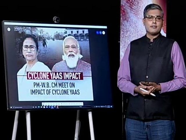 Video : Mamata Banerjee Meets PM For 15 Mins Over Cyclone, Then Skips Larger Meet