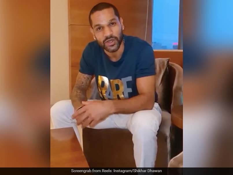 """""""Sundays Are For Shayaris!"""": Shikhar Dhawan Wows Fans In New Video. Watch"""