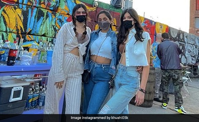 Khushi Kapoor And Cousin Shanaya Kapoor Raise The Style Quotient In New York