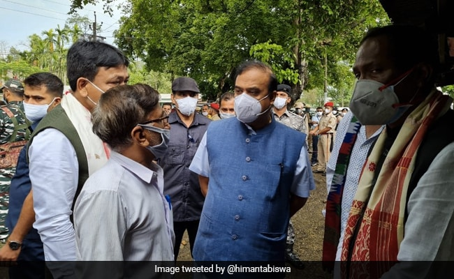 Assam Chief Minister Meets Family Of Grenade Victims, Announces Rs 5 Lakh