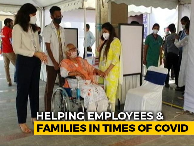 Video : India Inc Reaches Out To Employees In Times Of Covid