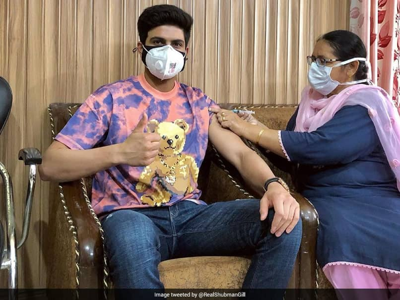 """""""Get Your Superpowers Upgraded"""": Shubman Gill Urges Everyone To Get Vaccinated"""