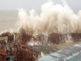 Video : Monster Cyclone Tauktae Crosses Gujarat Coast, Weakens