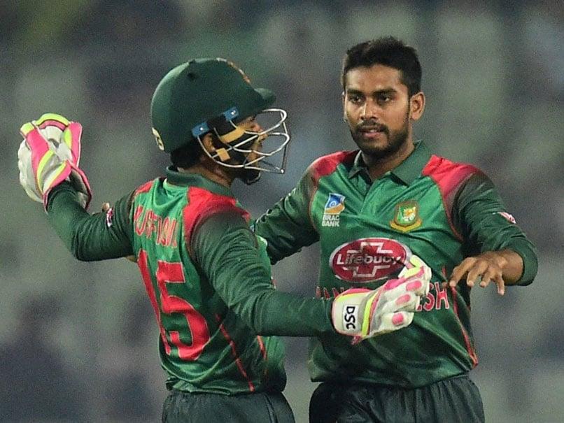 Watch: Mushfiqur Rahim Caught on Stump Mic Asking Mehidy Hasan To Push Non-Striker