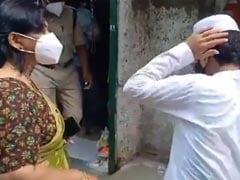 VIDEO: अब MP की एक ADM का 'थप्पड़' वायरल, कर्फ्यू में दुकान खोलने पर लड़के को मारा