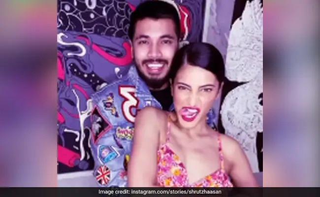 Shruti Haasan Is Spending Lockdown With Her 'Bestie' - Boyfriend Santanu Hazarika