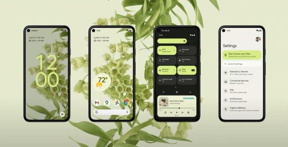 Google ने Android 12 को किया पेश, बदले हुए डिज़ाइन और बेहतर सिक्योरिटी फीचर्स से होगा लैस