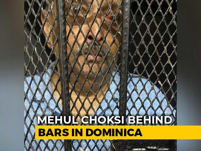 Video : Mehul Choksi Seen In Dominica Police Custody In New Photo