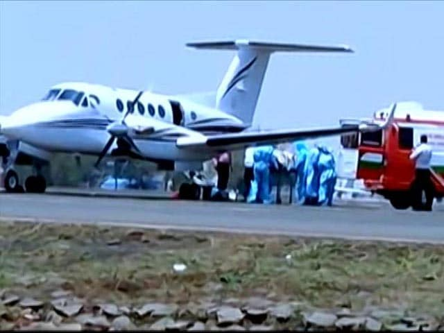 Video : Air Ambulances To Save Critically Ill Covid Patients