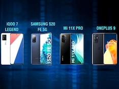 iQoo 7 Legend VS Samsung Galaxy S20 FE 5G vs MI 11X Pro vs OnePlus 9