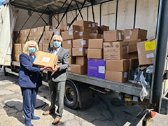 """""""Pain Back Home Hurting Us"""": Doctors In UK Fly Medical Supplies To India"""