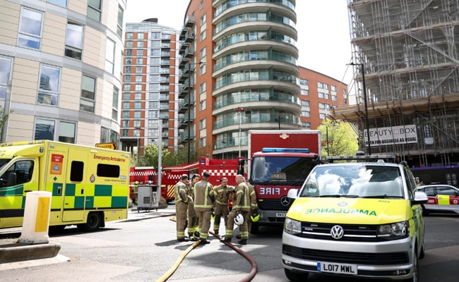 Fire Breaks Out At 19-Storey London Tower Block