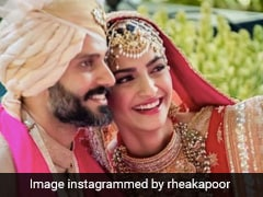 "What Rhea Kapoor Wrote For Her ""Favourite People"" Sonam And Anand Ahuja On Their Wedding Anniversary"