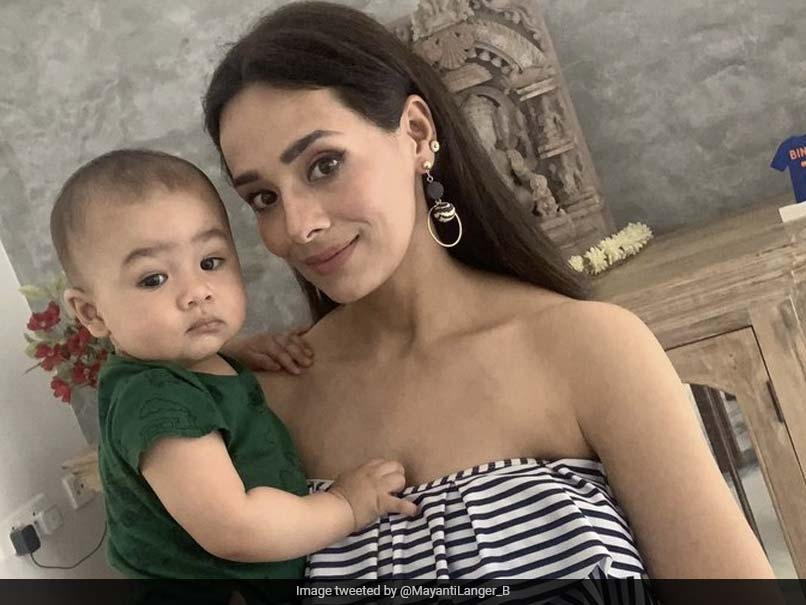 Mayanti Langer Binny Tweets Pic With 9-Month-Old Son, Brett Lee Reacts