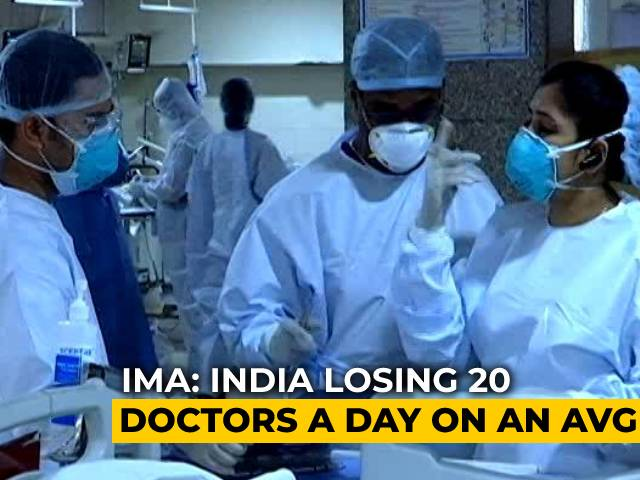 Video : Very Few Deaths Among Fully Vaccinated Doctors But Many Wait For 1st Dose