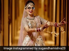Sugandha Mishra's Wedding Looks Are Equal Parts <i>Desi</i> And Swag