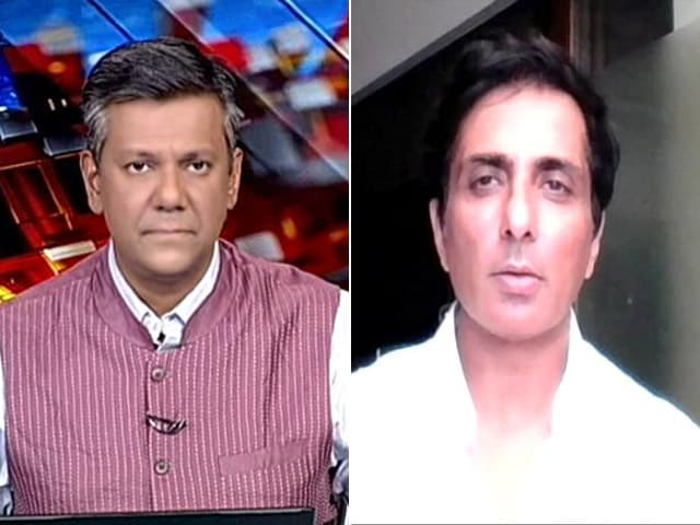 Video : Sonu Sood, The Unstoppable Covid Warrior, Talks To NDTV