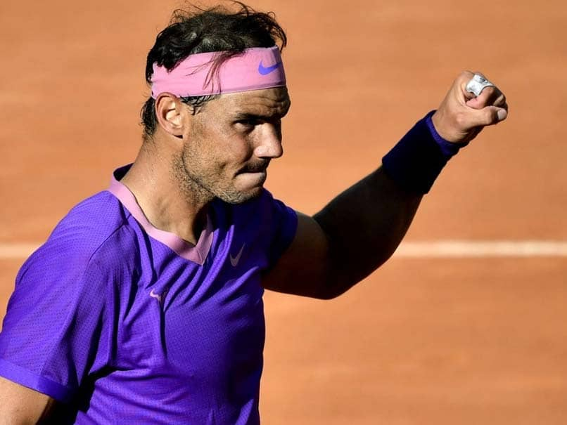 Italian Open: Rafael Nadal Saves Two Match Points To Beat Denis Shapovalov And Reaches Rome Quarter-Finals