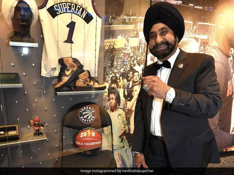 """Meet Nav Bhatia, First Fan To Be """"Honoured"""" Within Naismith Basketball Hall Of Fame"""