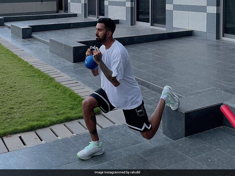 KL Rahul Shares Workout Pics On Instagram, Athiya Shetty Reacts