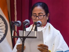 Mamata Banerjee Takes Oath As Bengal Chief Minister For 3rd Time