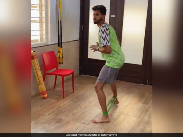 "Watch: Shreyas Iyers Recovery From Injury A ""Work In Progress"""