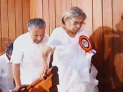 "Veteran Leader KR Gouri Amma Dies: ""Among Those Who Laid Foundation Of Modern Kerala"""