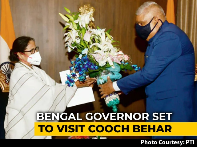 Video : Bengal Governor's Violence Survey Spawns Duel With Mamata Banerjee