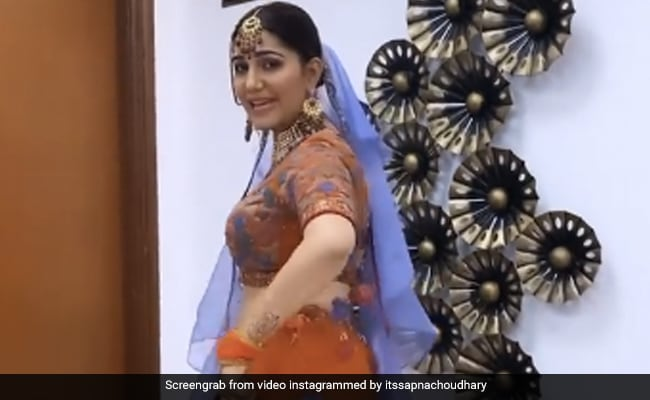 Sapna Choudhary Dance On Ghaghara Haryanvi Song Video Viral