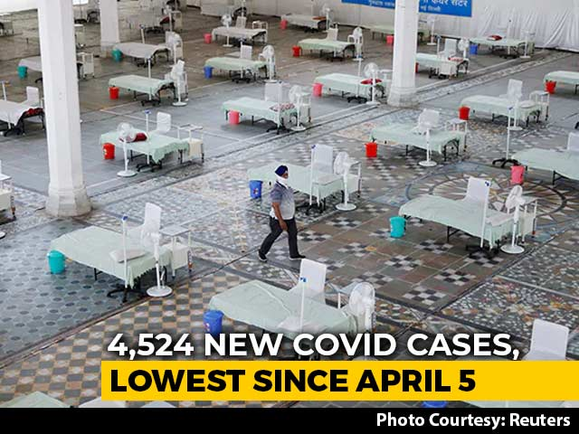 Delhi's Daily Covid Cases Fall Below 5,000, First Since April 5