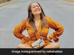 Neha Kakkar Can't Wait For Her New Song But Not Without Stylishly Posing With Her Rs 90K Gucci Bag