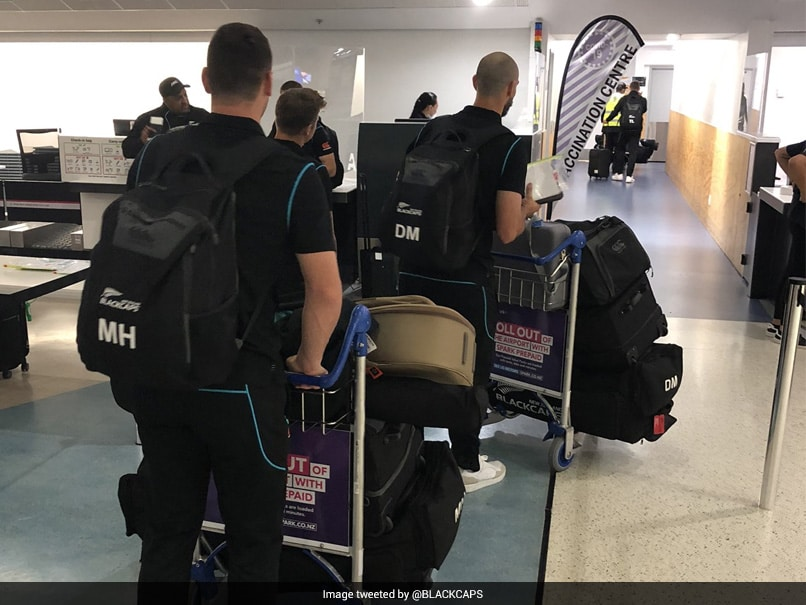 England vs New Zealand: Black Caps Players And Staff Leave For UK | Cricket News