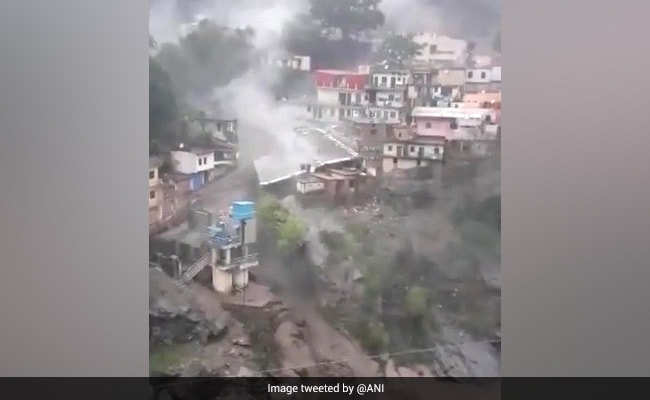 Cloudburst In Uttarakhand's Devprayag, Shops, Houses Damaged: Report