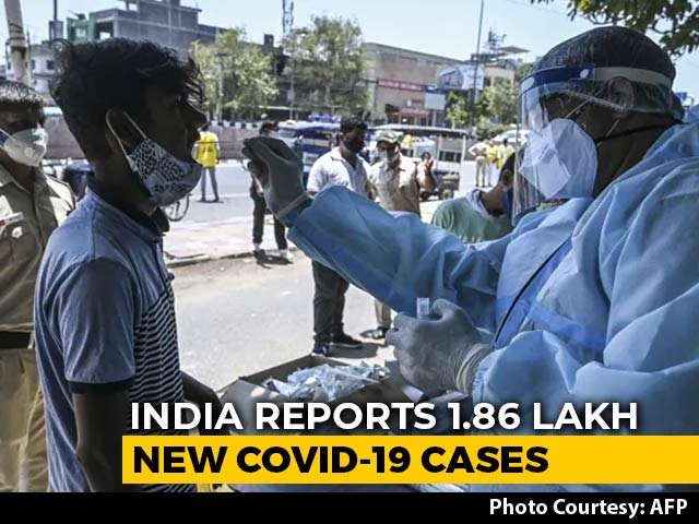 Video : 1.86 Lakh New COVID-19 Cases In 24 Hours, Lowest In 44 Days; 3,660 Deaths
