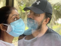 """""""Love In The Time Of Corona"""", Writes Shilpa Shetty In Her Latest Post For COVID-Positive Raj Kundra"""