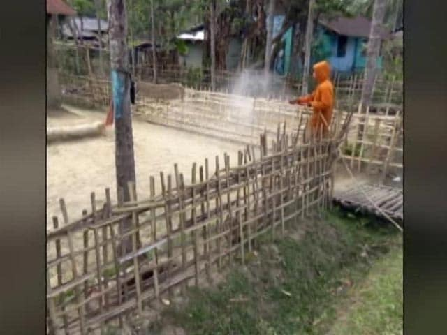 Video : 90 Workers Covid Positive In Assam Tea Estate, Now A Containment Zone