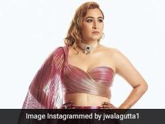 Jwala Gutta's Bridal Glam Continues With Her Snazzy Fuchsia <i>Lehenga</i>