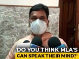 "Video : Uttar Pradesh BJP MLA's Sedition Charge Worry If He ""Speaks Too Much"""