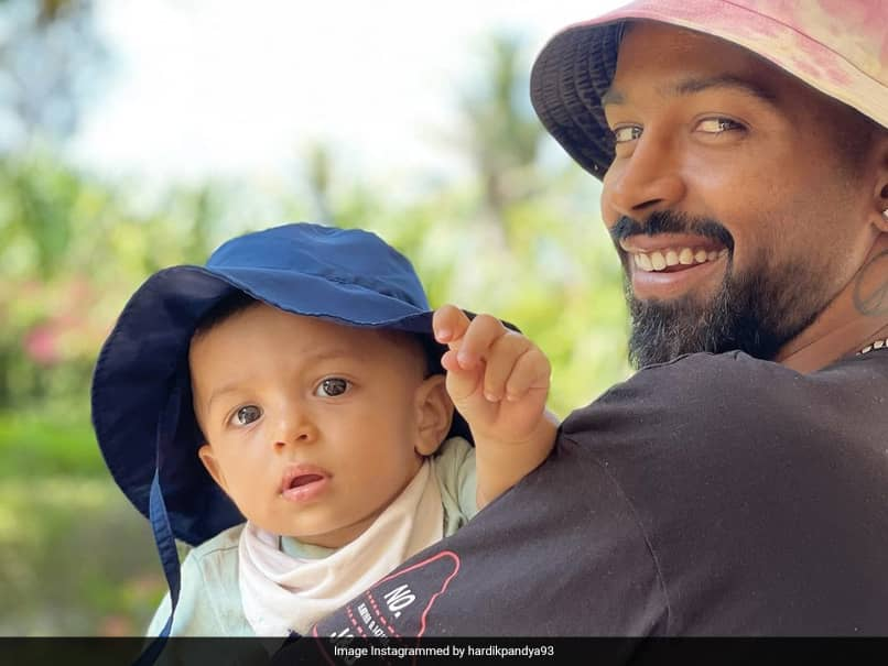 Natasa Stankovic Shares Adorable Photo Of Hardik Pandya With Son Agastya