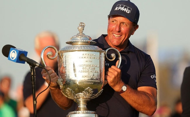 Phil Mickelson CREATE history becomes oldest major winner at 50 with epic PGA win
