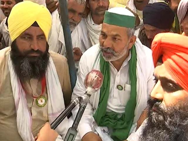 Video : Protesting Farmers Plan To Observe May 26 As 'Black Day'