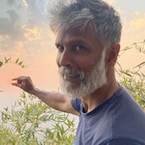 Milind Soman Shares A Glimpse Of Home-Grown Pumpkins