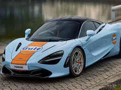 McLaren 720S Gulf Oil Edition Unveiled