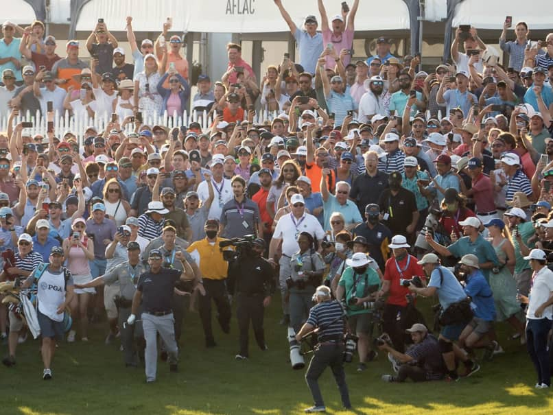 PGA Chief Sorry Over Crowd Scenes At Kiawah After Phil Mickelsons PGA Championship Win