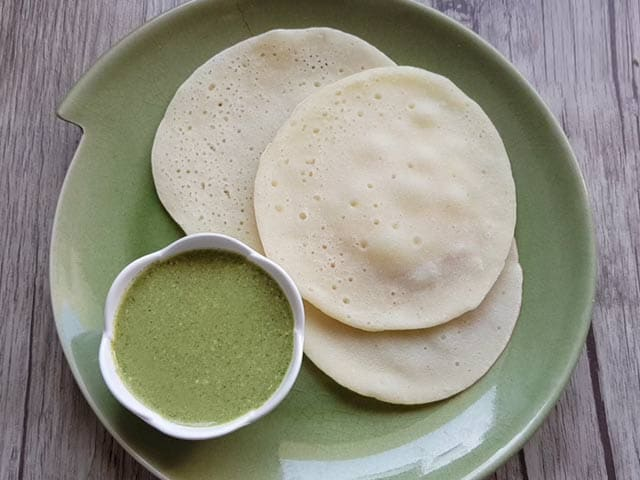 Video : How To Make Rice And Coconut Appam   Easy Rice And Coconut Appam Recipe Video