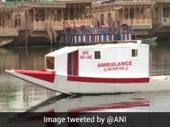 Houseboat Owner Starts Floating Ambulance Service In Dal Lake