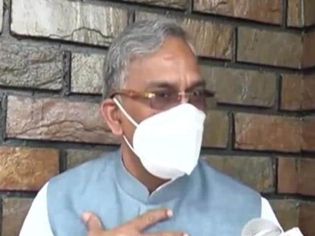 "Video : Coronavirus Has ""Right To Live"" Like Us: Ex-Uttarakhand Chief Minister"