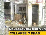 Video : At Least 7 Dead In Maharashtra's Thane After 5-Storey Building Collapses