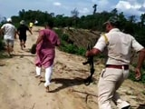 Video : Video: Bullets Whiz Past Assam MLA, Others Amid Gunfire In State Border